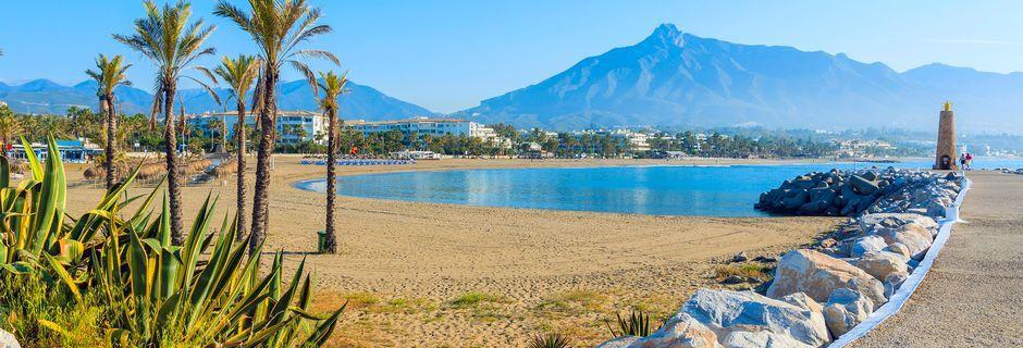 Marbella på Costa del Sol.