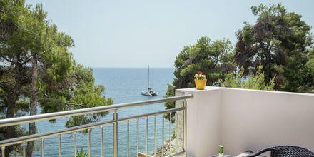 Udsigt fra balkon på Hotel Marilena på Alonissis
