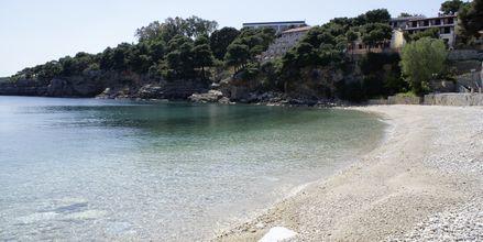 Stranden ved Hotel Marilena på Alonissis