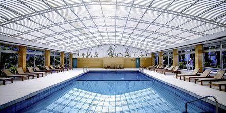 Indendørs pool på Hotel Marina Beach i Gouves, Kreta.