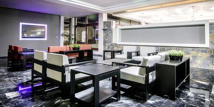 Lounge på Hotel Marina Beach i Gouves, Kreta.