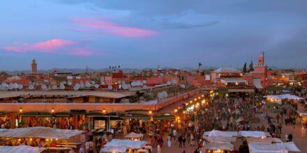 Marrakech i Marokko.