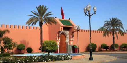Det kongelige palads i Marrakech, Marokko.