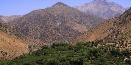 Atlasbjergene i Marokko.