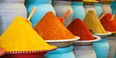 Marokkanske krydderier.