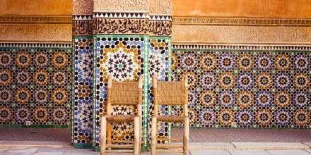 Ben Youssef Madras i Marrakech.