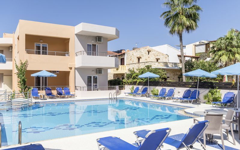 05f10347 Hotel Mary - Sommer 2019, Platanias | apollorejser.dk