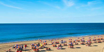 Stranden i Maspalomas på Gran Canaria, De Kanariske Øer, Spanien.