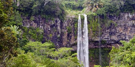 Vandfald på Mauritius