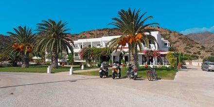 Hotel Mediterranean Beach på Karpathos.