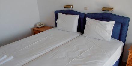 Dobbeltværelse på Hotel Mediterranean Beach på Karpathos.