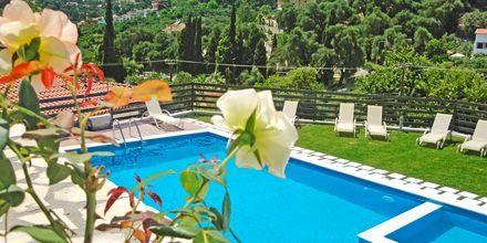 Pool på Hotel Mediterraneo Parga, Grækenland.