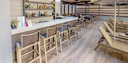 Bar på Hotel Medusa i Rethymnon på Kreta, Grækenland
