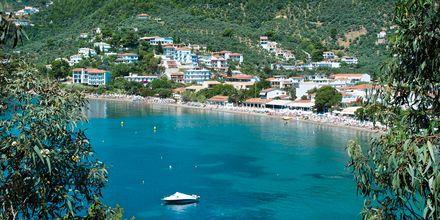 Megali Ammos på Skiathos, Grækenland.