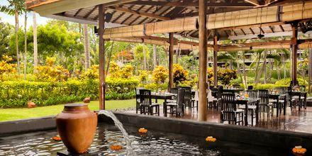 Restaurant Lotus Garden på Melia Bali i Nusa Dua, Bali