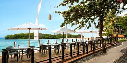 Strandrestauranten Sateria på Melia Bali i Nusa Dua, Bali