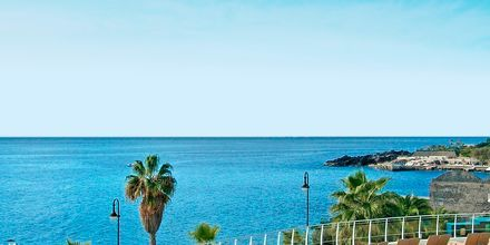 Poolområdet på Hotel Melia Madeira Mare på Madeira, Portugal.