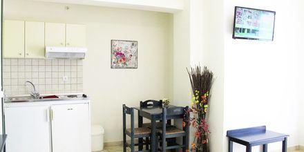 1-værelses lejlighed på hotel Melina Beach på Kreta, Grækenland.