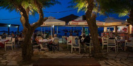 Restaurant på hotel Melina Beach på Kreta, Grækenland