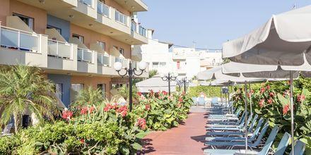 Hotel Melmar i Rethymnon by på Kreta.