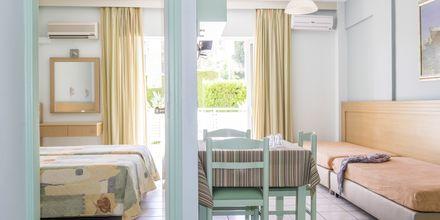 2-værelses lejligheder på Hotel Melmar i Rethymnon by på Kreta.