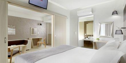 Suite på Hotel Melrose i Rethymnon, Kreta.