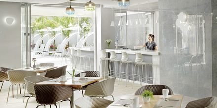 Restaurant på Hotel Melrose i Rethymnon, Kreta.
