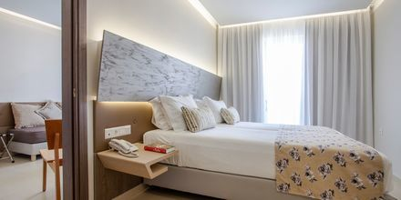 Familie-værelser på hotel Melrose i Rethymnon på Kreta, Grækenland.