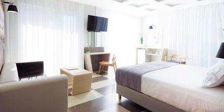 Junior-suite på Hotel Melrose i Rethymnon, Kreta.