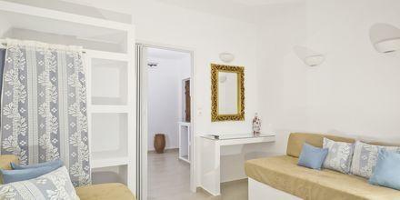 2-værelses lejlighed på Hotel Meltemi på Karpathos, Grækenland.