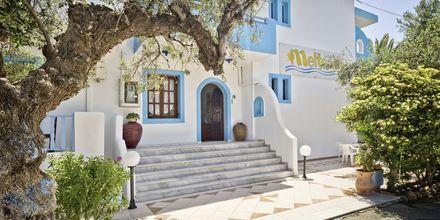 Hotel Meltemi på Karpathos, Grækenland.