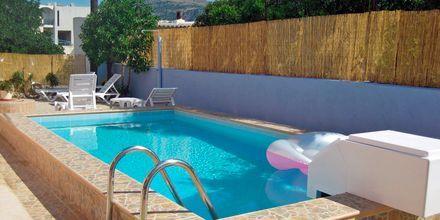 Poolen på Hotel Meltemi på Karpathos, Grækenland.
