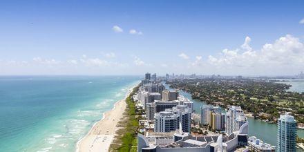 South Beach i Miami i Florida, USA.