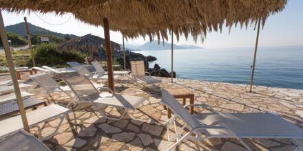 Lejlighederne på Mikros Paradisos i Sivota, Grækenland