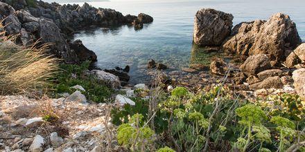 Mikros Paradisos i Sivota, Grækenland.