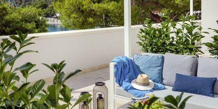 Suite på Hotel Milna Osam på Brac, Kroatien.