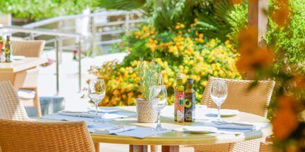 Den italienske restaurant Ta Nissia på hotel Minoa Palace Resort & Spa i Platanias på Kreta, Grækenland.