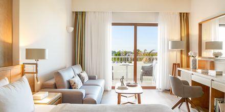 Dobbeltværelser på hotel Minoa Palace Resort & Spa i Platanias på Kreta, Grækenland.