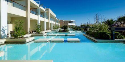 Imperialbygningen på Hotel Minoa Palace Resort & Spa på Kreta, Grækenland.