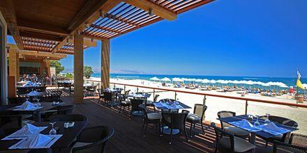 Strandrestauranten Korali på Hotel Minoa Palace Resort & Spa på Kreta, Grækenland.