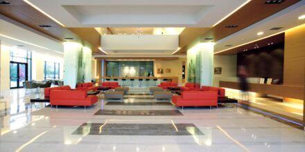 Lobby på Hotel Minoa Palace Resort & Spa på Kreta, Grækenland.
