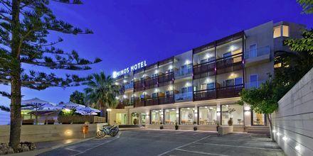 Hotel Minos i Rethymnon, Kreta.