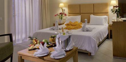 Junior-suite på Hotel Minos i Rethymnon, Kreta.