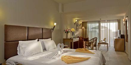 Junior-suite superior på Hotel Minos i Rethymnon, Kreta.