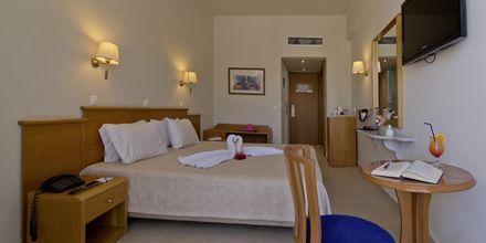 Superior-værelse på Hotel Minos i Rethymnon, Kreta.