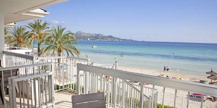 Udsigt fra hotel Mirada i Alcudia, Mallorca