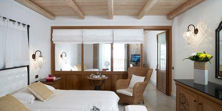Familie-værelse på Mitsis Blue Domes Resort & Spa på Kos i Grækenland.