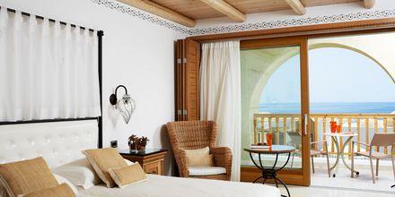 Dobbeltværelse på Mitsis Blue Domes Resort & Spa på Kos i Grækenland.