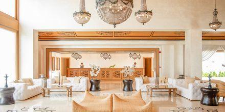 Lobby på Mitsis Blue Domes Resort & Spa på Kos i Grækenland.