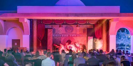 Underholdning på Mitsis Blue Domes Resort & Spa på Kos i Grækenland.
